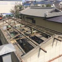 あま市の建築会社 聖工務店の屋根改修工事