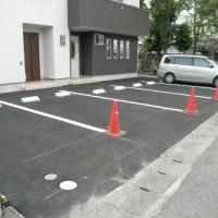 あま市の建築会社 聖工務店の駐車場整備工事